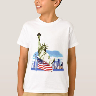 The statue of liberty in New York city T-Shirt