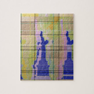 The Statue of Liberty. Jigsaw Puzzle