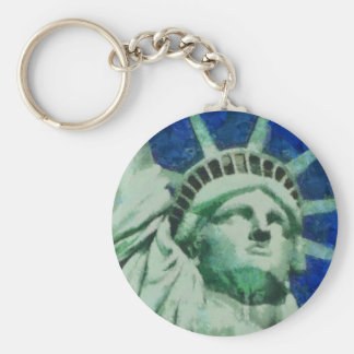 The Statue of Liberty Keychain