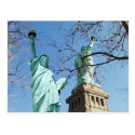 The Statue of Liberty, Liberty Island, NYC Postcard