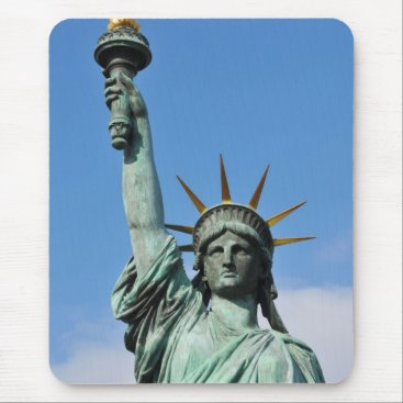 USA Themed The statue of liberty mouse pad