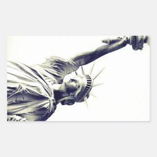 The Statue of Liberty, New York City Rectangular Pegatinas