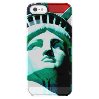 The Statue of Liberty, New York, NY Clear iPhone SE/5/5s Case