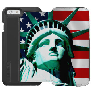 The Statue of Liberty, New York, NY iPhone 6/6s Wallet Case