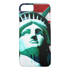 The Statue of Liberty, New York, NY iPhone 8/7 Case