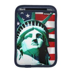 The Statue of Liberty, New York, NY Sleeve For iPad Mini
