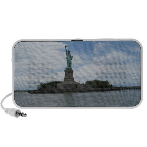 The Statue of Liberty Notebook Speaker
