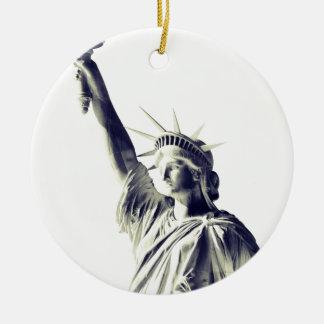 The Statue of Liberty, NYC Ceramic Ornament