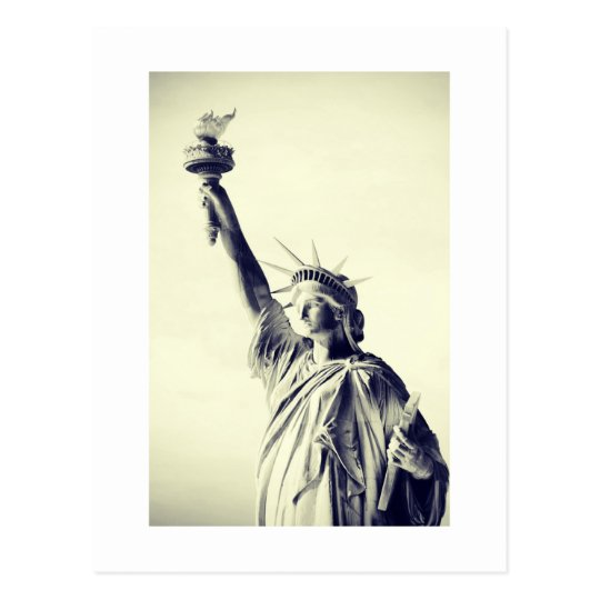The Statue of Liberty, NYC Postcard