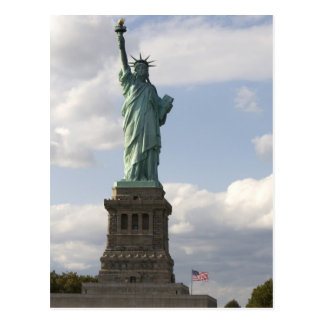 The Statue of Liberty on Liberty Island in New Postcard