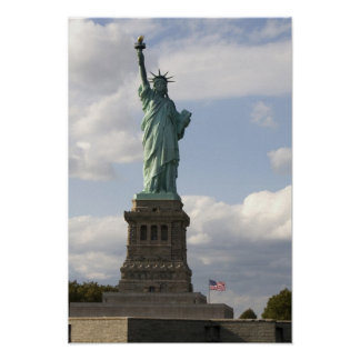 The Statue of Liberty on Liberty Island in New Poster