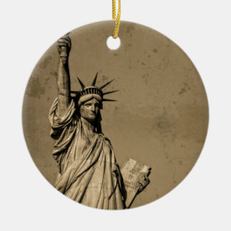 The Statue Of Liberty Christmas Tree Ornaments