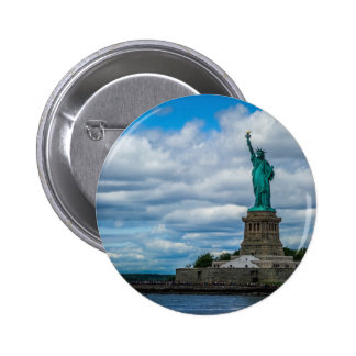 The Statue of Liberty Pinback Button