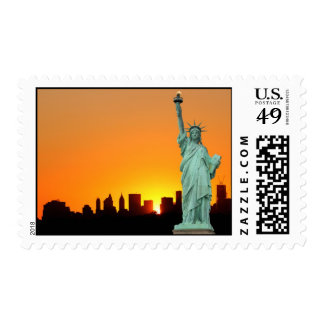 The Statue of Liberty Postage Stamp