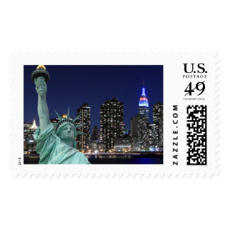 The Statue of Liberty Postage Stamps
