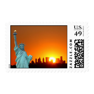 The Statue of Liberty Stamp