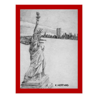 """The Statue of Liberty"" Poster"
