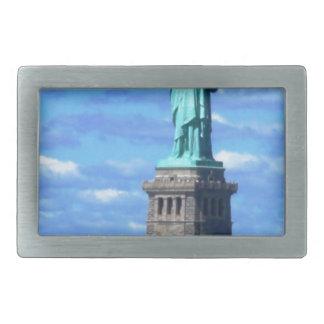 The Statue of Liberty Rectangular Belt Buckle