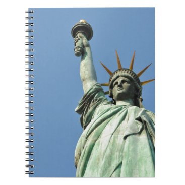 USA Themed The statue of liberty spiral notebook