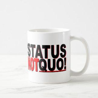 The Status is NOT Quo! Coffee Mug