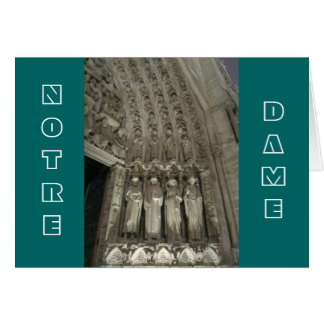 The Statutes of Notre Dame Card