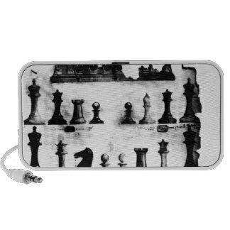 The Staunton Chessmen Patent Drawing Travelling Speaker