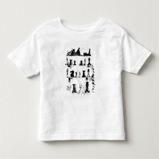 The Staunton Chessmen Patent Drawing Toddler T-shirt