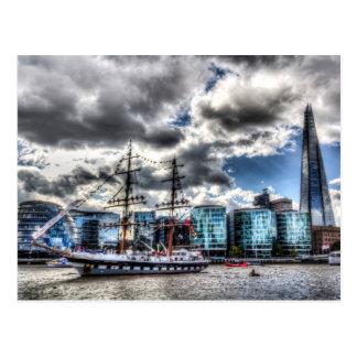 The Stavros N Niarchos London Postcard