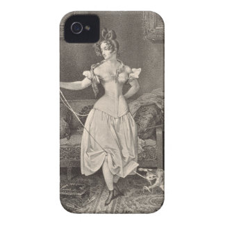 The Stay-lace, engraved by Alfred Leon Lemercier ( iPhone 4 Case-Mate Case