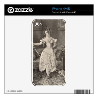 The Stay-lace, engraved by Alfred Leon Lemercier ( iPhone 4S Skin