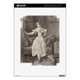 The Stay-lace, engraved by Alfred Leon Lemercier ( Skin For iPad 3