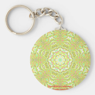 The StB2010 Collection Basic Round Button Keychain