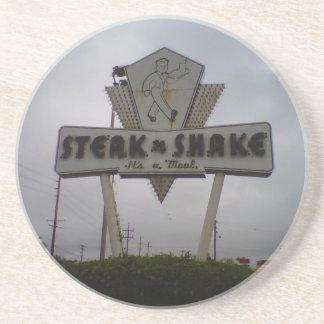 The Steak'N'Shake Coaster