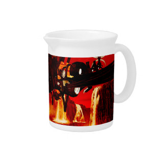 The steam dragon beverage pitcher