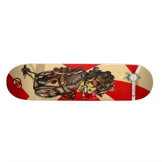 The Steampunk Board Skate Board Deck