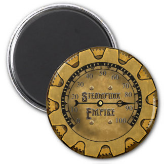 The Steampunk Empire Magnet