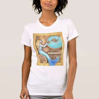 The Steampunk Heart Ladies Shirts