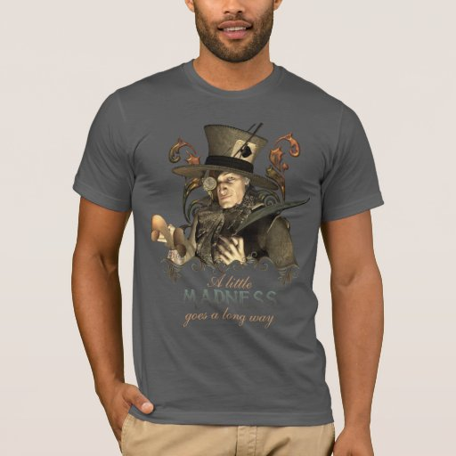 The Steampunk Mad Hatter T-Shirt