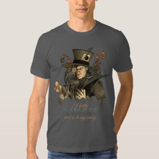 The Steampunk Mad Hatter Tee Shirt