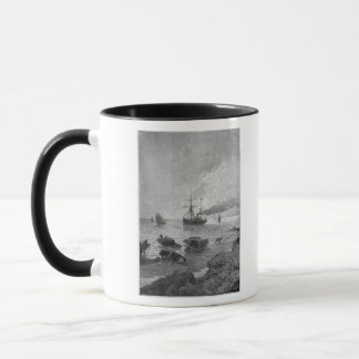 The steamship Vladivostok on the Yangtze River Mug