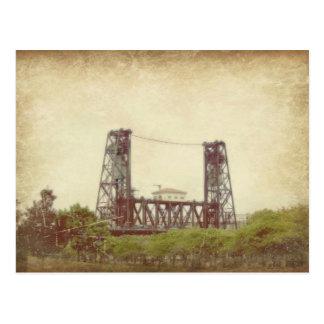 The Steel Bridge in Portland, Oregon Post Card