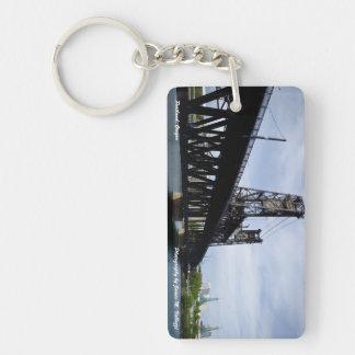 The Steel Bridge Keychain