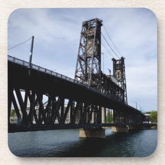 The Steel Bridge Portland, Oregon Drink Coaster