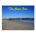 The Steel Pier in Atlantic City Postcard