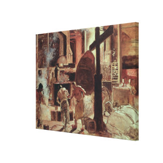 The Steelworks Canvas Print