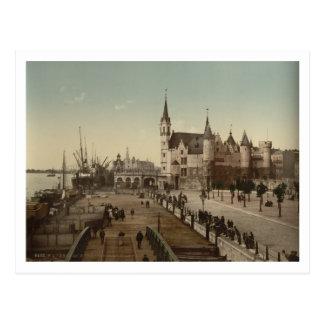 The Steen Antwerp Belgium Postcards
