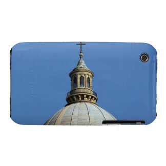 The steeple and the main dome of the mausoleum iPhone 3 case