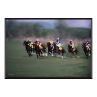 The Steeple Chase Poster