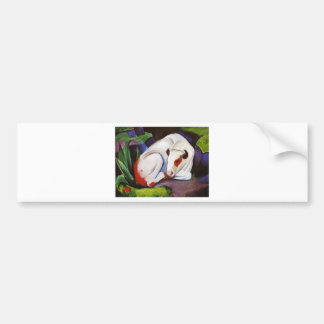 The Steer (The Bull) by Franz Marc Bumper Sticker