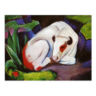 The Steer (The Bull) by Franz Marc Postcard